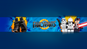 youtube gaming banners fancypants banner withlegs