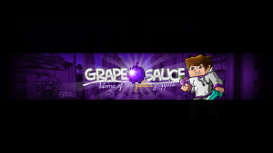 youtube gaming banners grapeapplesauce minecraft youtube banner by finsgraphics dpzjjm