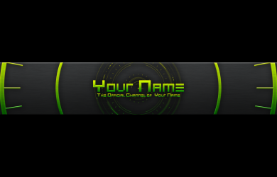 youtube header template image
